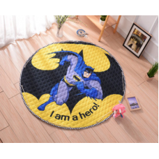 Детский коврик мешок для игрушек хлопковый Batman