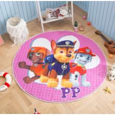 Детский коврик мешок для игрушек хлопковый Щенячий патруль