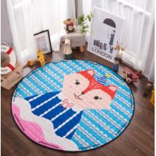 Детский коврик мешок для игрушек хлопковый МИСТЕР ФОКС