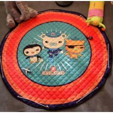 Детский коврик мешок для игрушек хлопковый  Octonauts