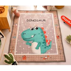 КОВРИК ДЕТСКИЙ ХЛОПКОВЫЙ динозавр