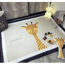 КОВРИК ДЕТСКИЙ ХЛОПКОВЫЙ жираф