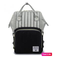 Сумка-рюкзак для мамы в полоску Baby Baylor
