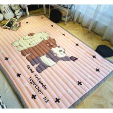 ХЛОПКОВЫЙ КОВРИК В ДЕТСКУЮ три медведя