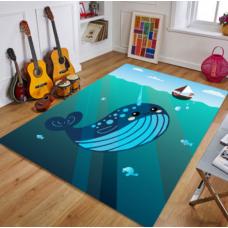 КОВРИК ПЛЮШЕВЫЙ кит