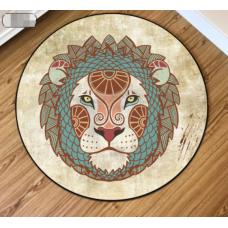 ДЕТСКИЙ КРУГЛЫЙ КОВРИК  лев