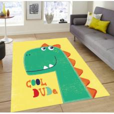 КОВРИК ПЛЮШЕВЫЙ динозавр
