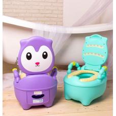 ГОРШОК cat  фиолетовый
