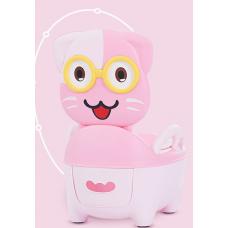 ГОРШОК котенок розовый
