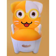 ГОРШОК котенок оранжевый