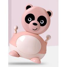 ГОРШОК панда  розовый