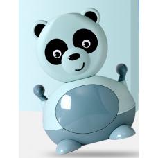 ГОРШОК панда  мятный