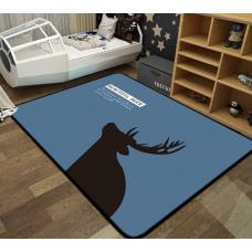 Детский коврик плюшевый лось