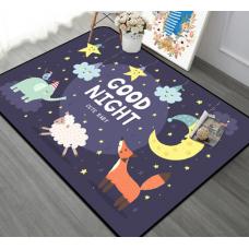 Детский коврик плюшевый спокойной ночи