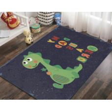 КОВРИК В ДЕТСКУЮ ПЛЮШЕВЫЙ динозавр