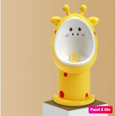 ПИССУАР жираф желтый