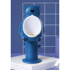 ПИССУАР мишка синий