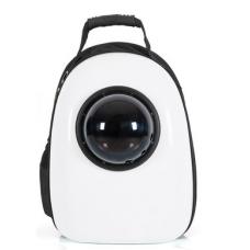 Рюкзак-переноска для кошек и небольших собачек белый