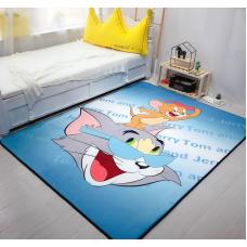 Детский коврик плюшевый том и джери