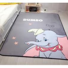 Детский коврик плюшевый слоник дамбо