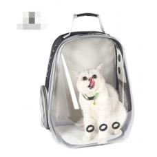 Рюкзак-переноска для кошек и небольших собачек черный