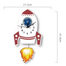 Часы настенные ракета