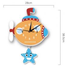 Часы настенные подводная лодка