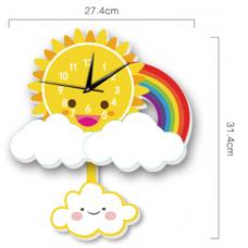 Часы настенные солнышко