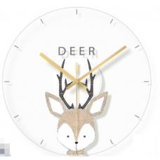 Часы настенные олень