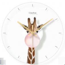 Часы настенные жираф
