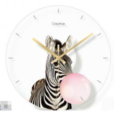 Часы настенные зебра