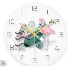 Часы настенные фламинго