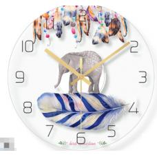 Часы настенные слоник