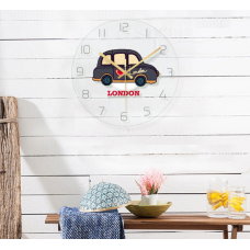 Часы настенные машинка лондон