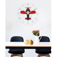 Часы настенные вертолет