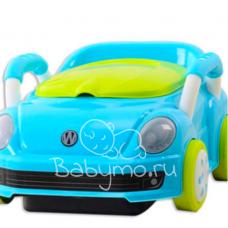 ГОРШОК МАШИНКА Volkswagen голубой