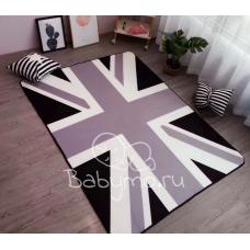 Детский коврик плюшевый британский флаг