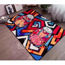 Детский коврик плюшевый котики египет