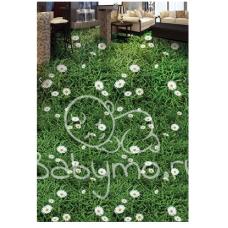 КОВРИК 3D зеленая поляна