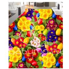 КОВРИК 3D яркие цветы