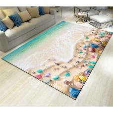 КОВРИК 3D красочный пляж