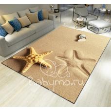 КОВРИК 3D морская звезда