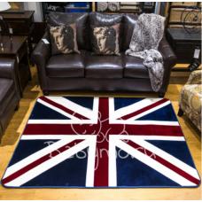 КОВРИК ПЛЮШЕВЫЙ  британский флаг